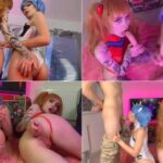 Anime Parody Porn Zirael_Rem – Asuka and Rei get fucked by guys FullHD mp4
