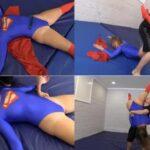 Supergirl loses – Repeats her programming aloud HD 720p