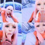 Manyvids Anime Parody Canadian RainbowSlut – Zero Two Space Facial 4k 2160p
